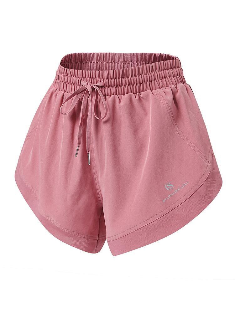 Sloli Quick Dry Sports Shorts XS / Dark Pink