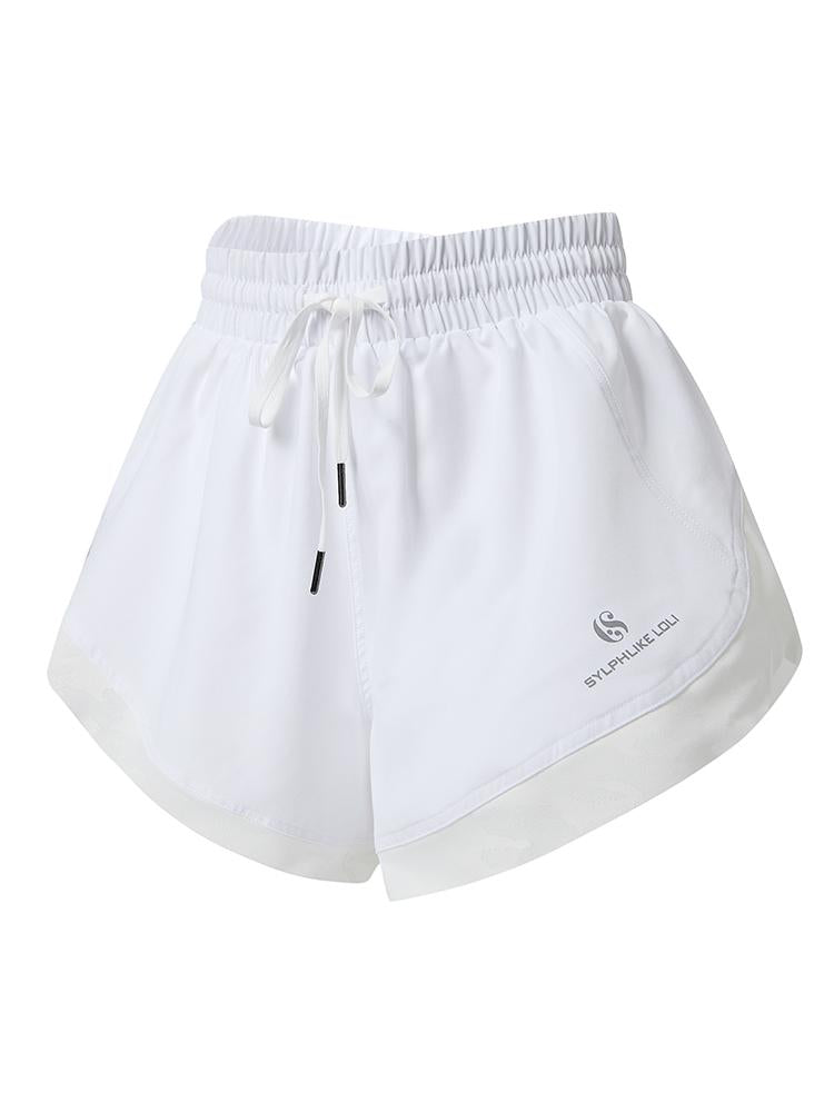 Sloli Quick Dry Sports Shorts XS / White