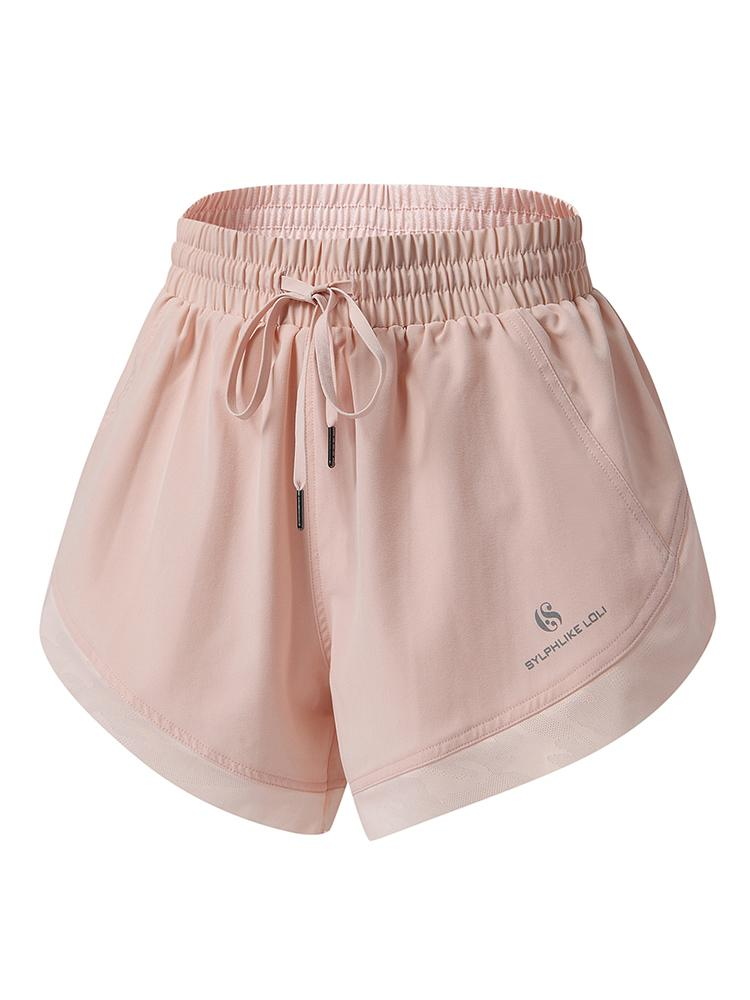 Sloli Quick Dry Sports Shorts XS / Light Pink