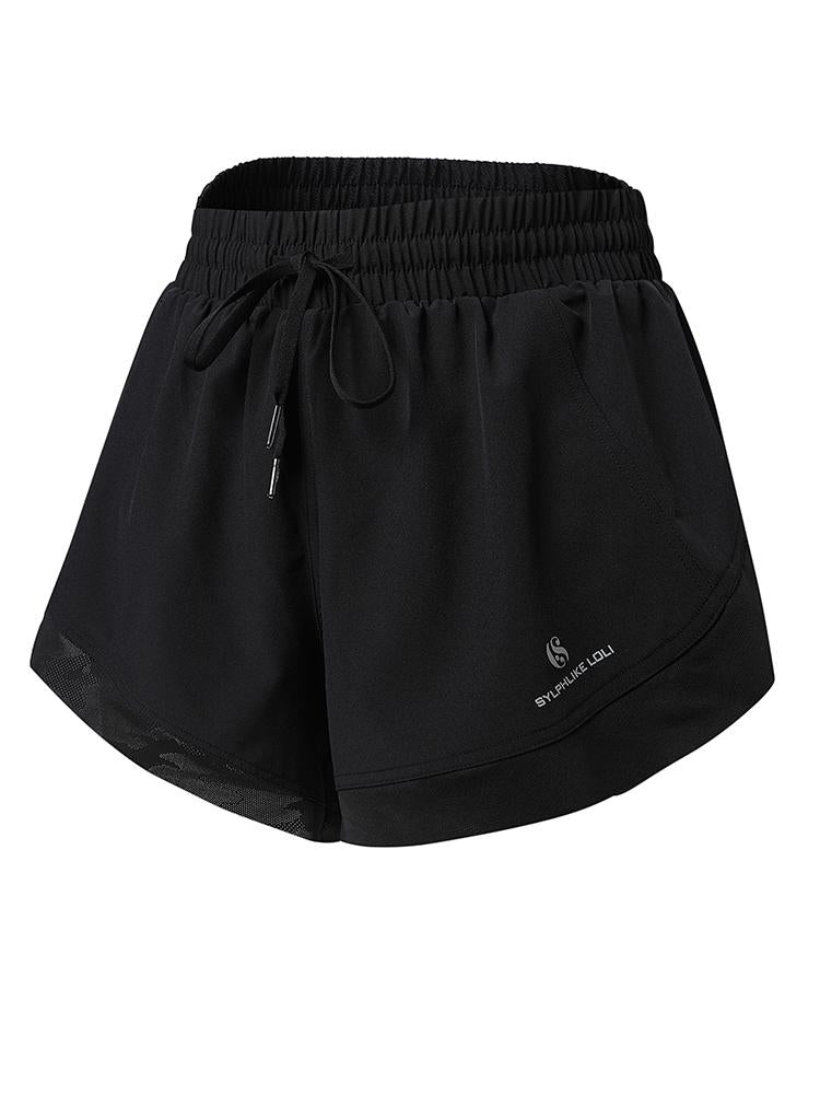 Sloli Quick Dry Sports Shorts XS / Black