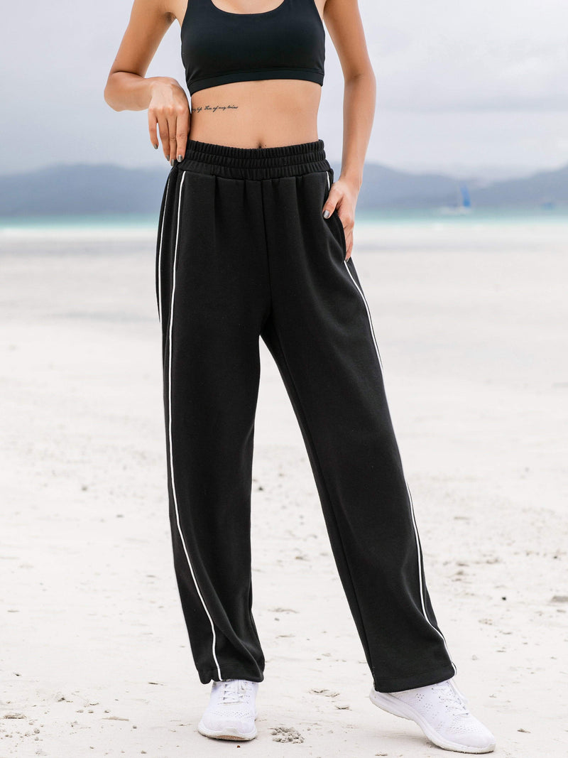 Sloli Front Pocket Casual Sweatpants