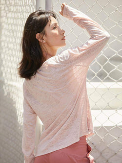 Sloli Long-Sleeved Mesh Sports Shirt
