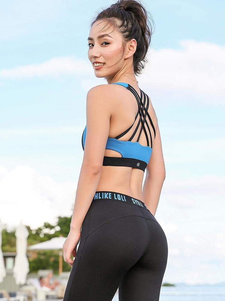 Sloli Highly Strech Sports Bra for Medium Intensity Training