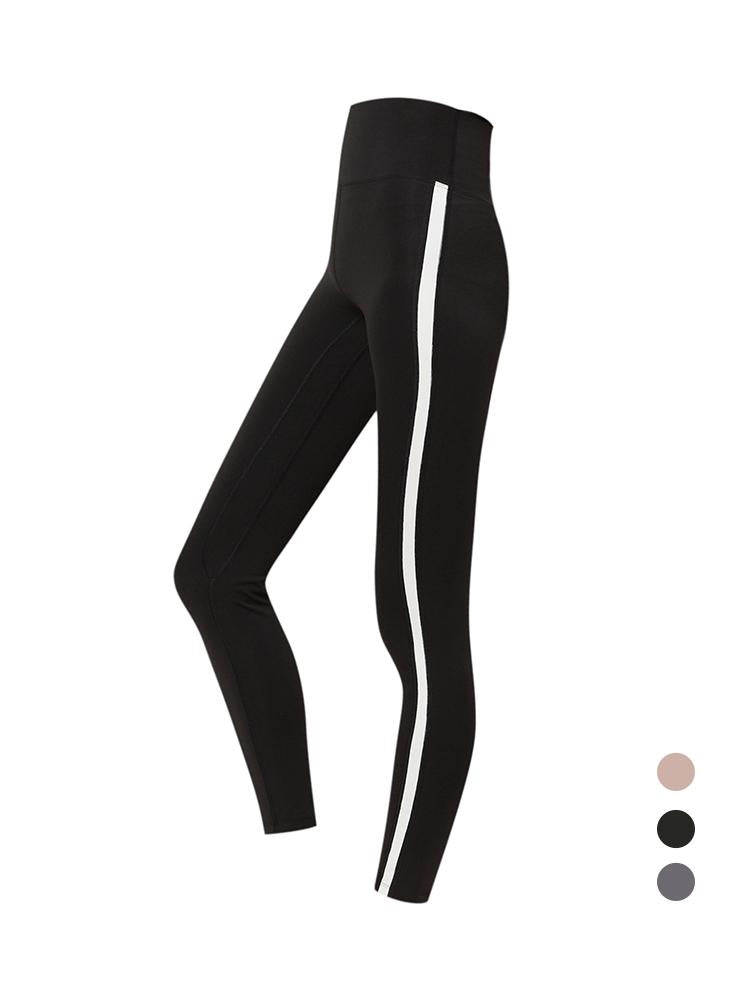 Sloli Color Scheme Stylish Sports Training Leggings XS / Black