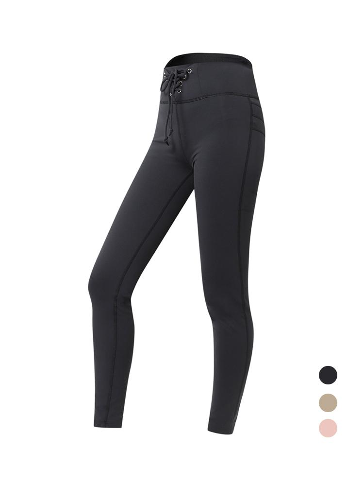 Sloli High Waist Hip Up Leggings XS / Black