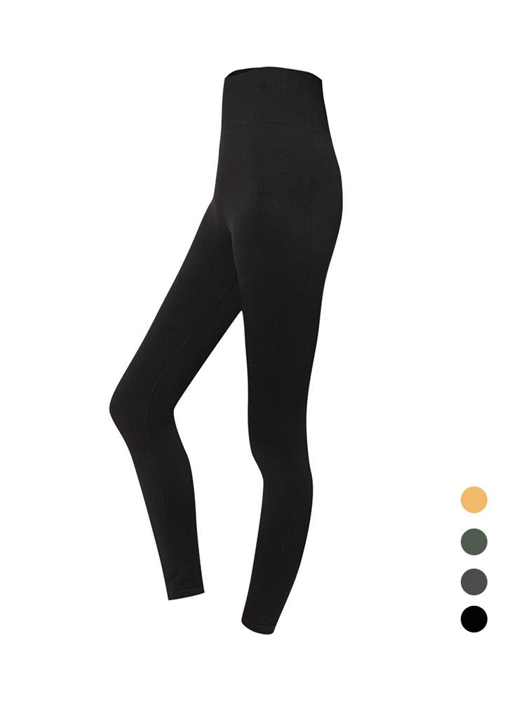 Sloli High Waist Elastic Sports Leggings S / Black