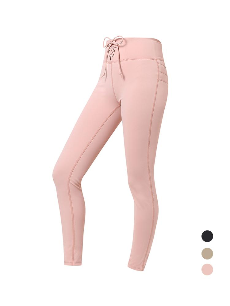 Sloli High Waist Hip Up Leggings XS / Pink