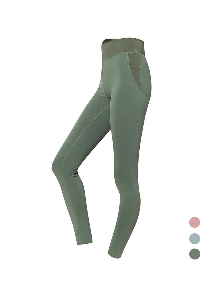 Sloli Color Scheme Hip Up Legging XS / Green