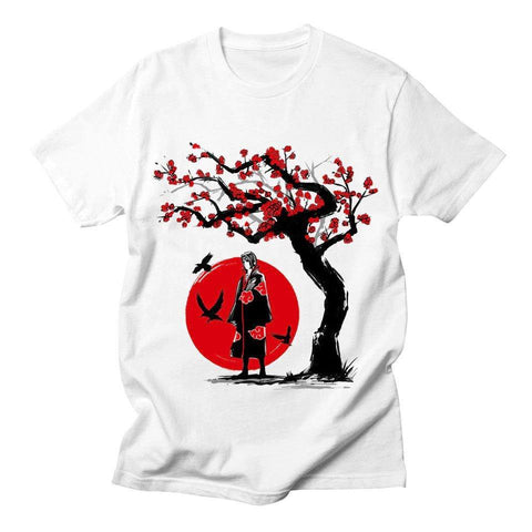Naruto - Blood Moon Itachi T-Shirt - OmgSugoi