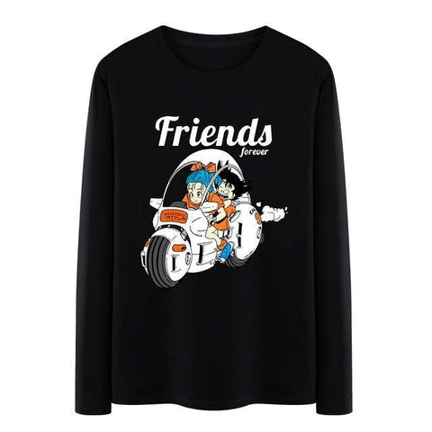 Dragon Ball Goku & Bulma Long Sleeve - OmgSugoi