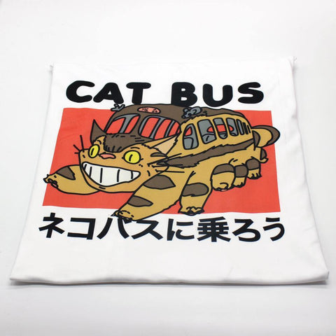 Ghibli CAT BUS T-shirt - OmgSugoi