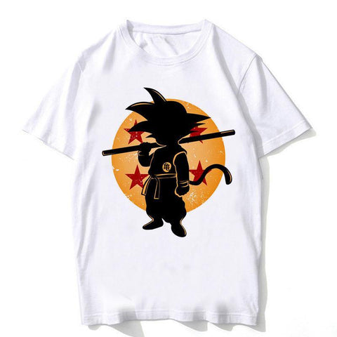 Dragon Ball Z - Goku Silhouette T-Shirt - OmgSugoi