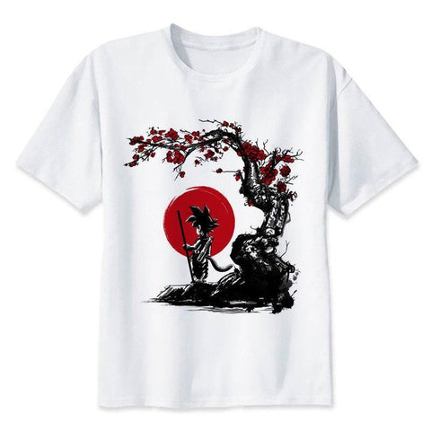 Dragon Ball Z - Blood Moon Goku T-Shirt - OmgSugoi