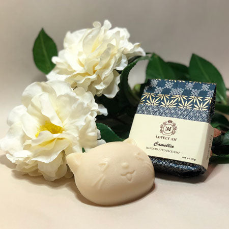 Camellia Handcrafted Face Soap Bar - Lovely AM