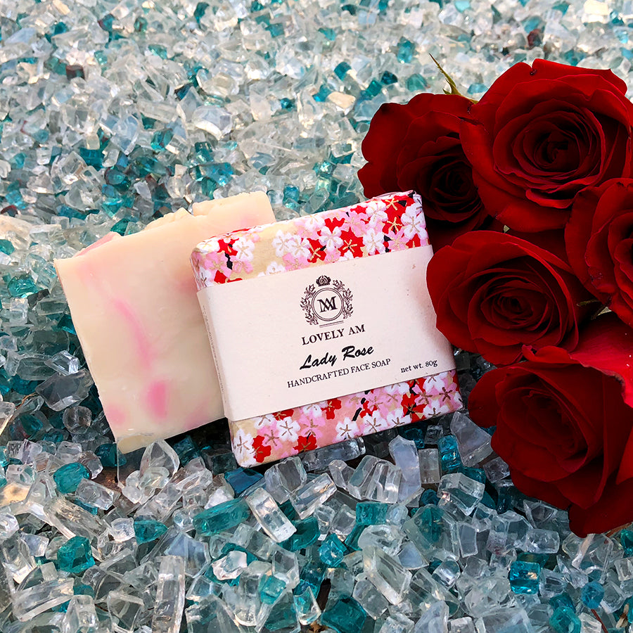 Lady Rose Handcrafted Face Soap - Lovely AM