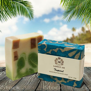Tropical Handcrafted Body Soap