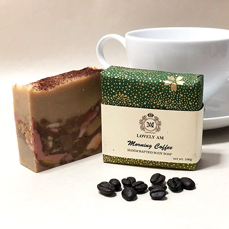Morning Coffee Handcrafted Body Soap - Lovely AM