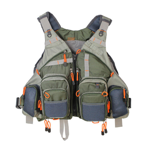 MultiFunction Adjustable Fishing Vest