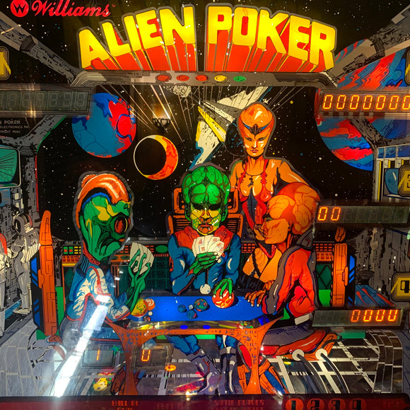 Alien Poker LED Kit