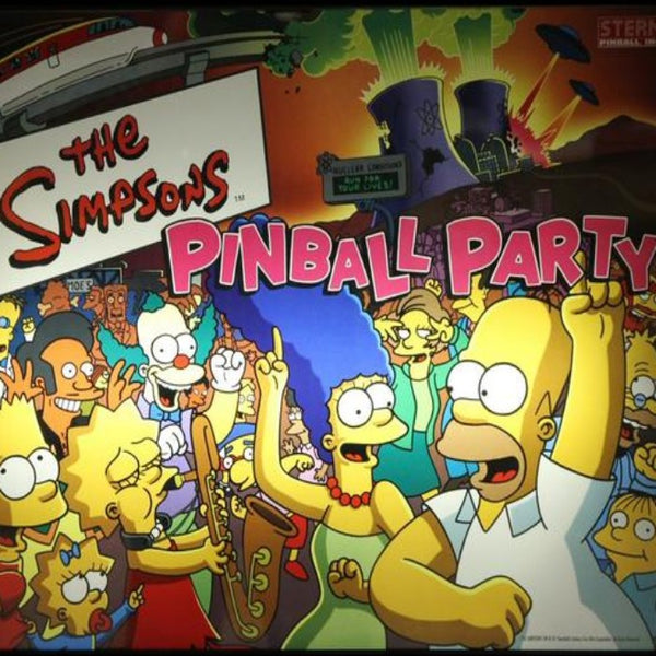 Simpsons Pinball Party LED Kit