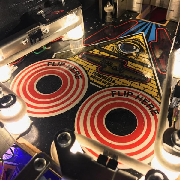 Twilight Zone Upper Playfield Lighting Kit