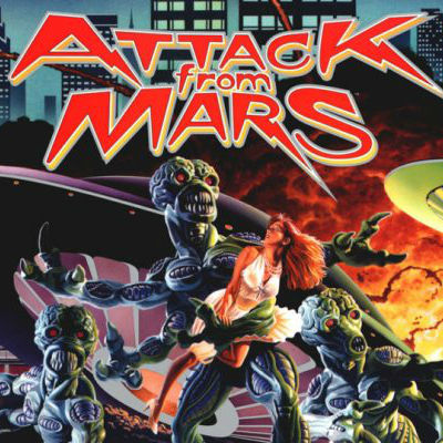 Attack From Mars Translite