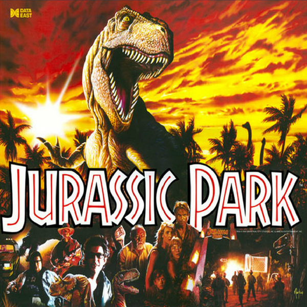 Jurassic Park Data East LED Kit
