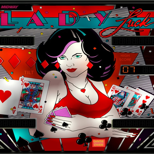 Lady Luck (Bally) LED Kit