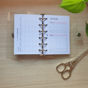 Budget Planner with Clear Binder