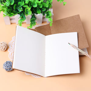 A5 Kraft Travel Notebook Blank Refill