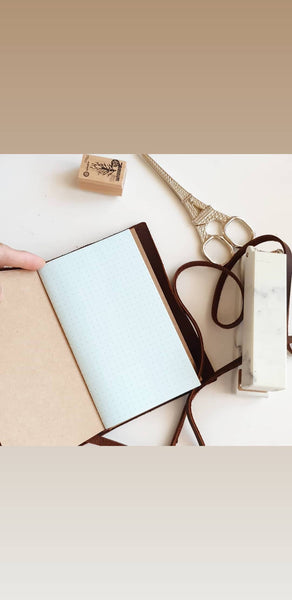 Passport Leather Travel Notebook