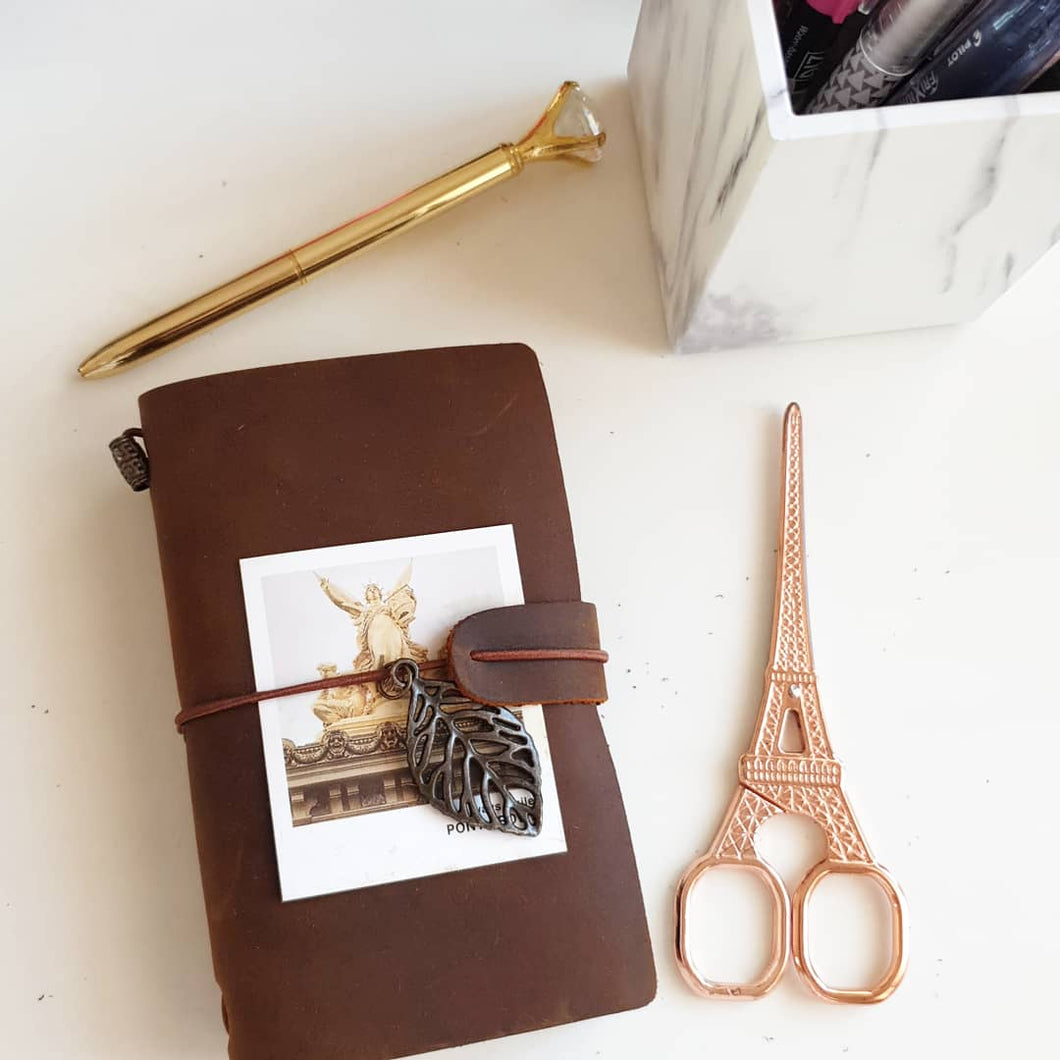 Pocket Leather Travel Notebook