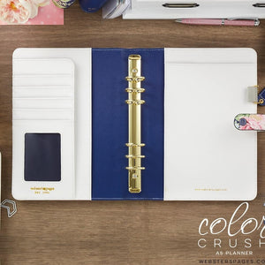 Webster Pages Navy Floral A5 Planner Kit