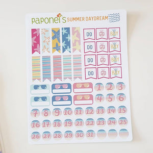 Summer Daydream Sticker Kit