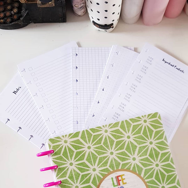 Back to Basic Planner Refill