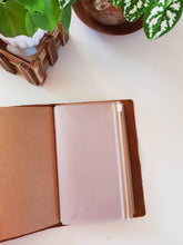 Load image into Gallery viewer, Personal Genuine Leather Travel Journal Notebook