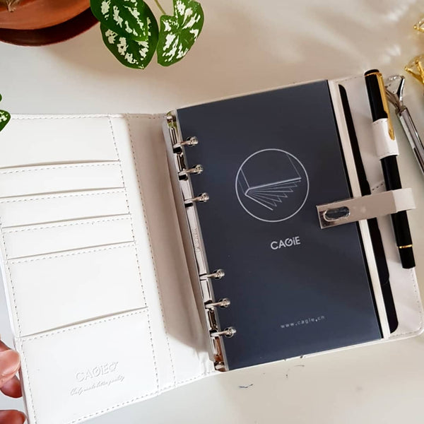 White Quirky Medium Personal Planner