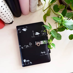 PREORDER Black Quirky Medium Personal Planner