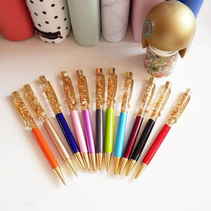 Luxury Gold Foil Coleto Pens