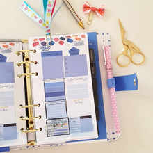 Load image into Gallery viewer, Blue Cupcake for Happy Happy Planner Refill
