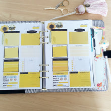 Load image into Gallery viewer, Sunflower Planner Refill