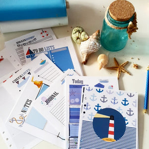 Nautical Planner Refill