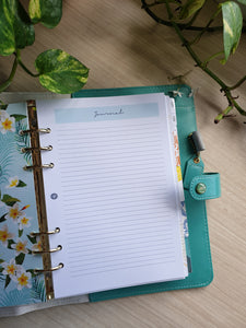 Fresh Mint Planner Refill for Kikki.K Kate Spade Filofax and other Planners