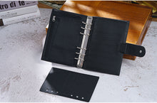 Load image into Gallery viewer, Moterm Personal Black Leather Planner