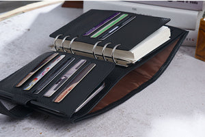 Moterm Personal Black Leather Planner
