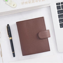 Load image into Gallery viewer, Moterm A7 Brown Notebook Leather Planner