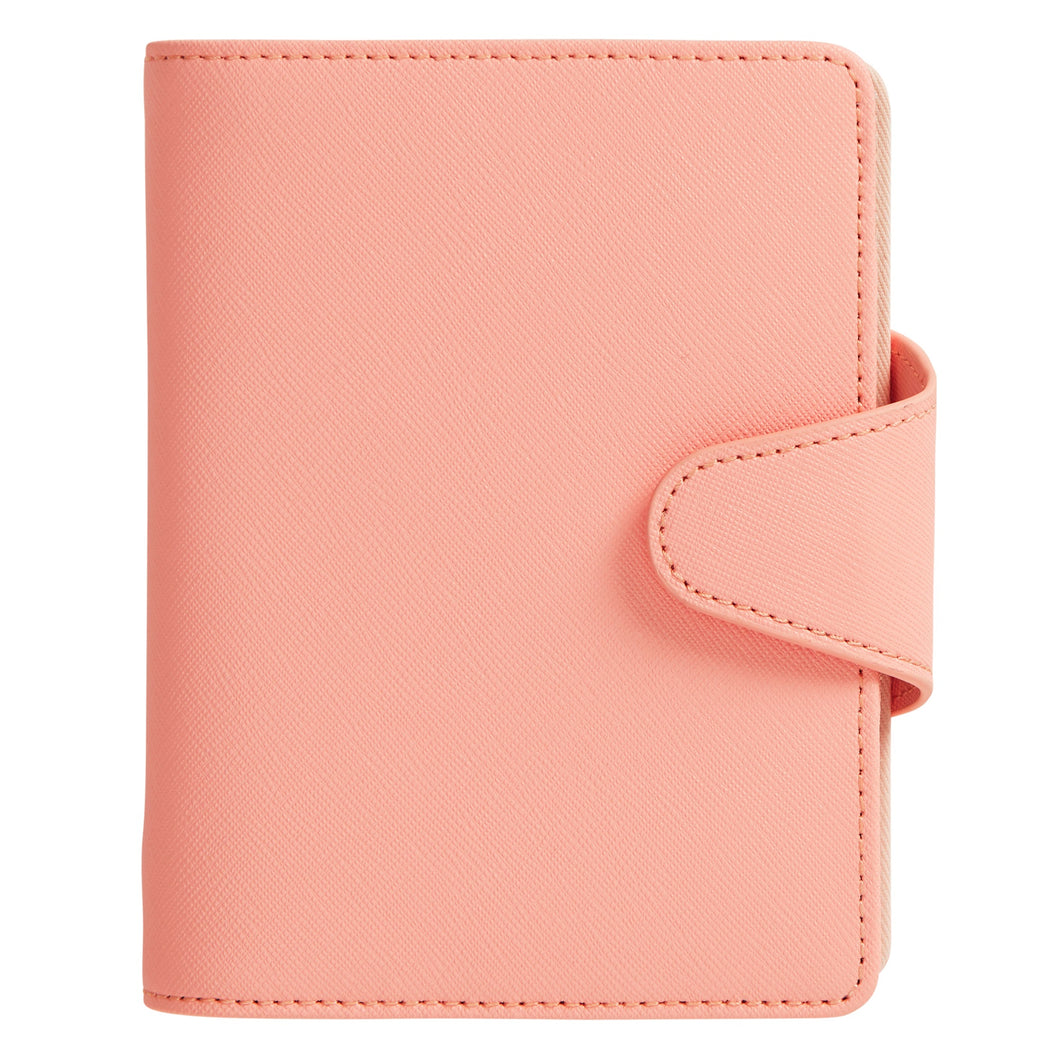 kikki.K 2020 Leather Time Planner Coral