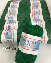 Load image into Gallery viewer, Monaco Acrylic 4ply Handknitting & Crochet Yarn