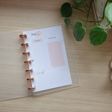 Load image into Gallery viewer, Blush B6 Discbound Planner Bundle 2
