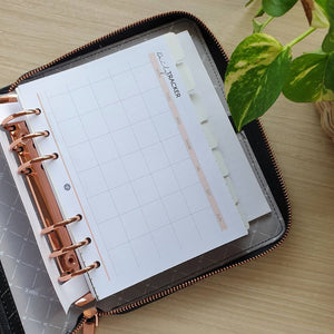 Expenses Planner Refill for Kikki.K Kate Spade Filofax and other Planners